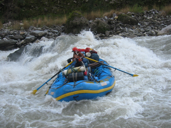 1 Day Trishuli Rafting & One Night Package(Foreigners)