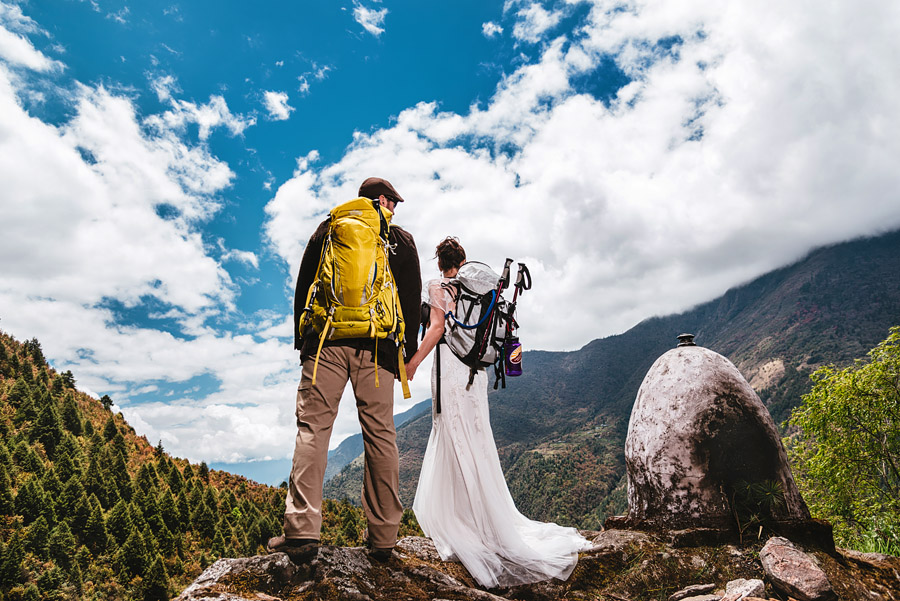 Bridal Photo Session In The Highest Pass