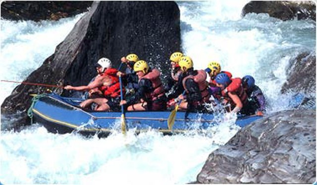One Full Day Program   With Rafting.